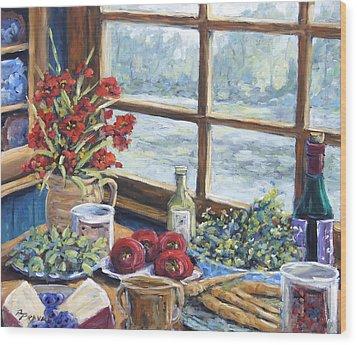 Spice Table By Prankearts Wood Print by Richard T Pranke