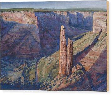 Spider Rock Canyon De Chelly Az Wood Print