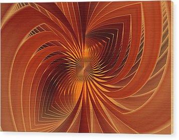 Spin Cycle Wood Print