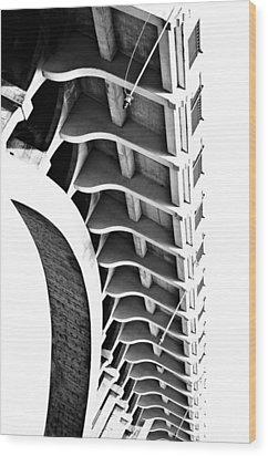 Spina Wood Print by Matthew Blum