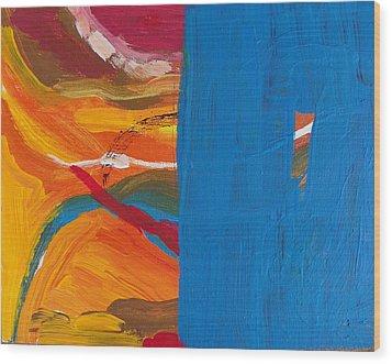 Spinal Block Wood Print