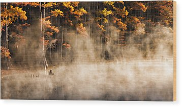 Wood Print featuring the photograph Spirit Dance by Lana Trussell