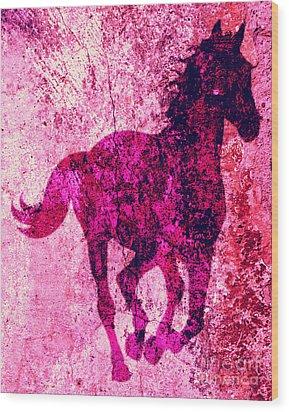 Spirit Equus  Wood Print