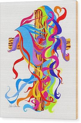 Spirit Filled Wood Print
