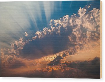 Wood Print featuring the photograph Spirit In The Sky by Jack Bell