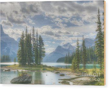 Wood Print featuring the photograph Spirit Island by Wanda Krack