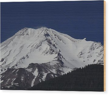 Spirit Mountain Wood Print by Condor