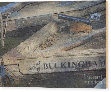 Wood Print featuring the photograph Spirit Of Buckingham by Pete Hellmann