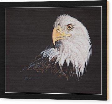 Spirit Of Freedom Bald Eagle Wood Print