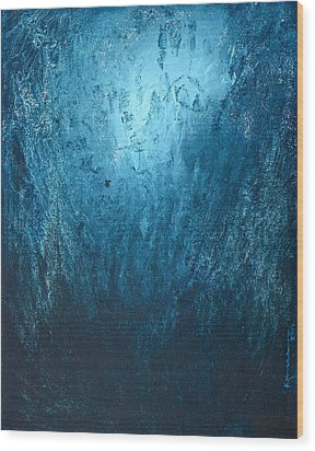 Spirit Of Life - Abstract 3 Wood Print by Kume Bryant