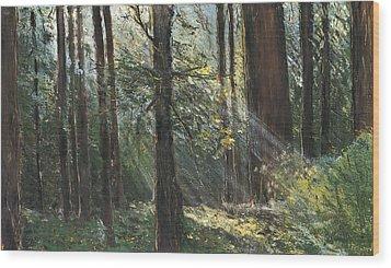 Spirit Woods Wood Print