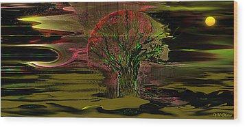 Spirit Wood Print by Yul Olaivar