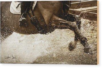 Wood Print featuring the photograph Splash 2013 by Joan Davis