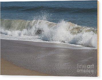 Wood Print featuring the photograph Splash by Arlene Carmel