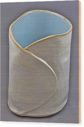 Spontaneous 07-023 Wood Print by Mario Perron