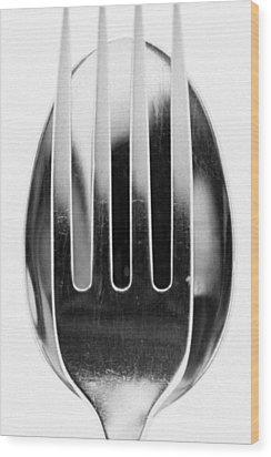 Spoon Me Wood Print by Wade Brooks