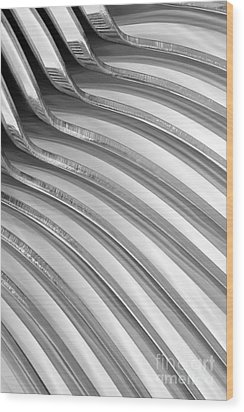 Spoons V Wood Print by Natalie Kinnear