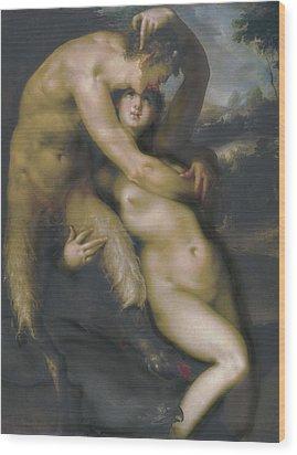 Spranger, Bartholomaeus 1546-1611 Wood Print by Everett
