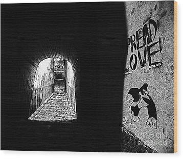 Spread Love Wood Print
