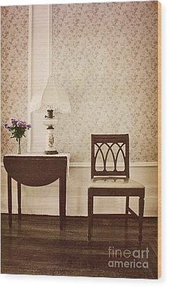 Sprig Of Lilacs Wood Print by Margie Hurwich