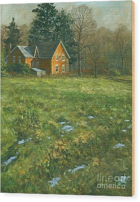 Spring Wood Print by Michael Swanson
