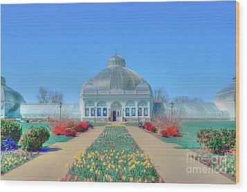 Spring At The Gardens Wood Print by Kathleen Struckle
