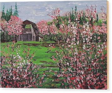 Spring Bloom Wood Print