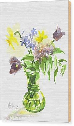 Spring Bouquet IIi Wood Print by Kip DeVore
