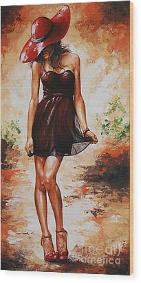 Spring Breeze 04 Wood Print by Emerico Imre Toth