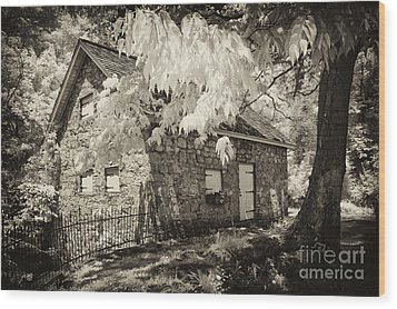 Spring Creek Mill Wood Print by Paul W Faust -  Impressions of Light