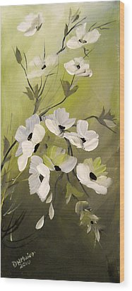 Spring Flowers Wood Print by Dorothy Maier