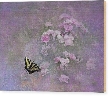 Spring Garden Wood Print by Diane Schuster