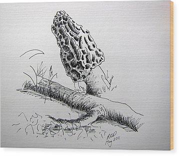 Spring Harvest Wood Print by Ramona Kraemer-Dobson