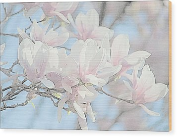 Wood Print featuring the photograph Spring Has Arrived 3 by Susan  McMenamin