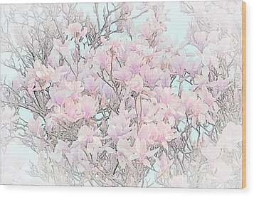 Wood Print featuring the photograph Spring Has Arrived I by Susan  McMenamin