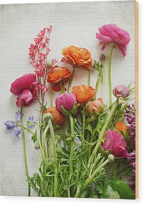 Spring Joy Wood Print by Lupen  Grainne