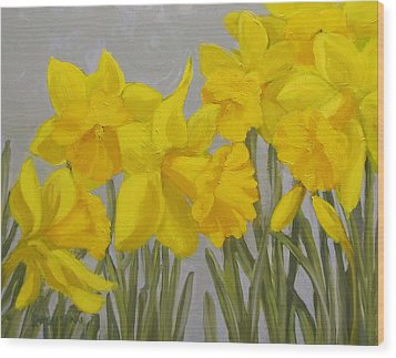 Spring Wood Print by Karen Ilari