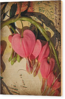 Spring Love Wood Print by Chris Berry