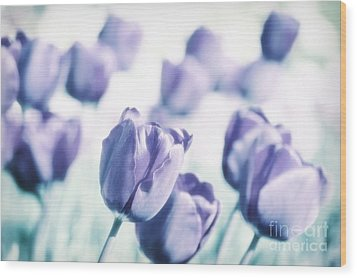 Spring Love II Wood Print by Angela Doelling AD DESIGN Photo and PhotoArt