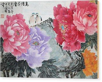 Spring Melody Wood Print
