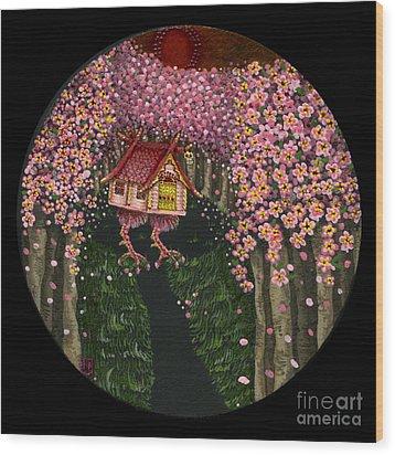 Spring  Wood Print by N Larson