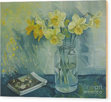 Spring Smile Wood Print by Elena Oleniuc
