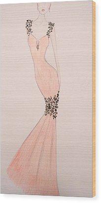 Spring Soiree Wood Print by Christine Corretti