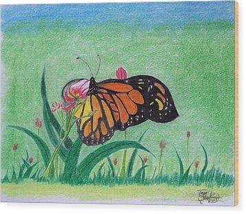 Spring Wood Print by Tony Clark