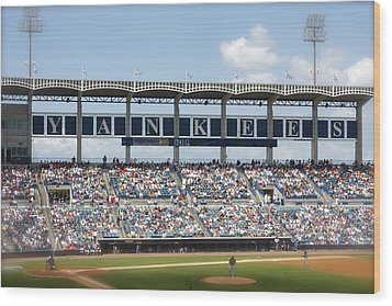 Spring Training Wood Print