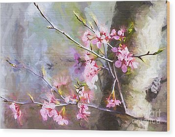 Spring's Awaited Color Wood Print