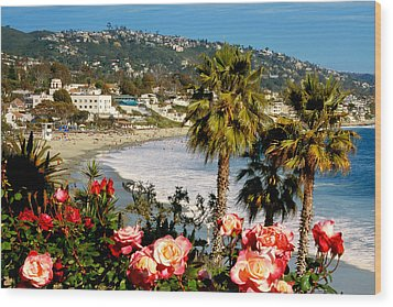 Springtime In Laguna Wood Print