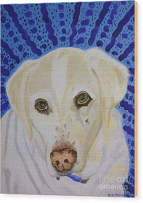 Spunky Wood Print by Vicki Maheu