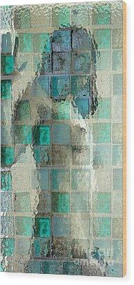 Squared Away 7 Wood Print by Jeff Breiman