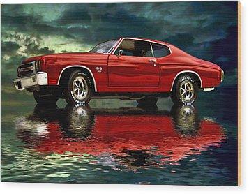 Chevelle 454 Wood Print